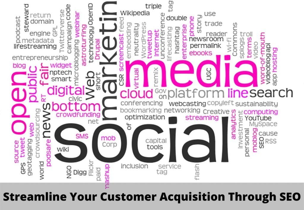 Streamline Your Customer Acquisition Through SEO